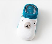 Носки следы противоскользящие с махровой подошвой Мишка, фото 1