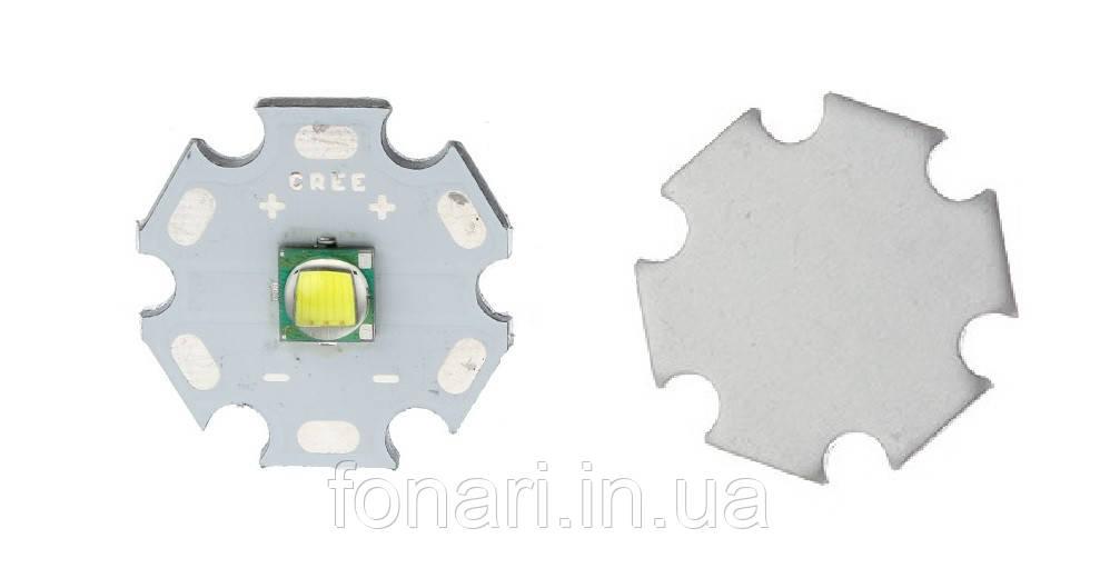 Светодиод Cree XM-L 6000K на подложке STAR 20mm
