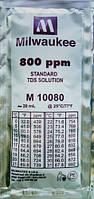 Калибровочный раствор M10080B для TDS метров 800 ppm MILWAUKEE 20мл,США