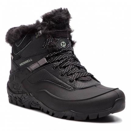 Оригинальные Ботинки женские Merrell AURORA 6 ICE+ WP J37216 Black Черные с мехом, фото 2
