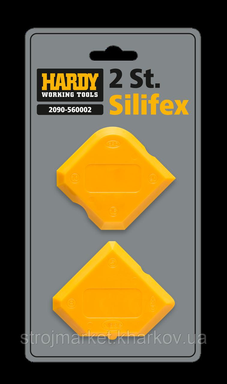 Набор шпателей для силиконового герметика Silifex TM Hardy(2шт)