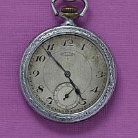 1 Госчас завод старинные карманные часы СССР , фото 1