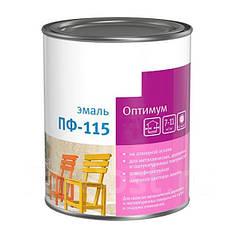 Емаль алкідна Мaster color ПФ115 глянцева коричнева 2.8 кг (314005)