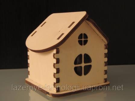 Домик миниатюрный под роспись