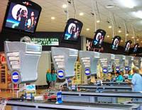Размещение видеороликов в супермаркетах и Т.Ц.