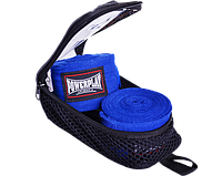 Бинт боксерский PowerPlay 3046 голубой 3 метра, фото 1