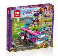 """Конструктор Lepin 01073 """"Экскурсия по Хартлейк-Сити на самолёте"""" Френдс, 362 детали. Аналог Lego Friends 41343"""