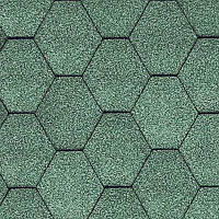 Битумная черепица  KATEPAL / Катепал Classic KL Зеленый