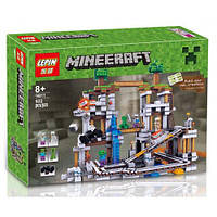 "Конструктор Lepin 18011 ""Шахта"" Майнкрафт, 922 деталей. Аналог Lego Minecraft 21118, фото 1"