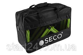 Набор тренировочных барьеров для бега SECO 15-33 см (5 шт)