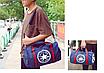 Спортивная большая сумка  ALL STAR Синий, фото 4