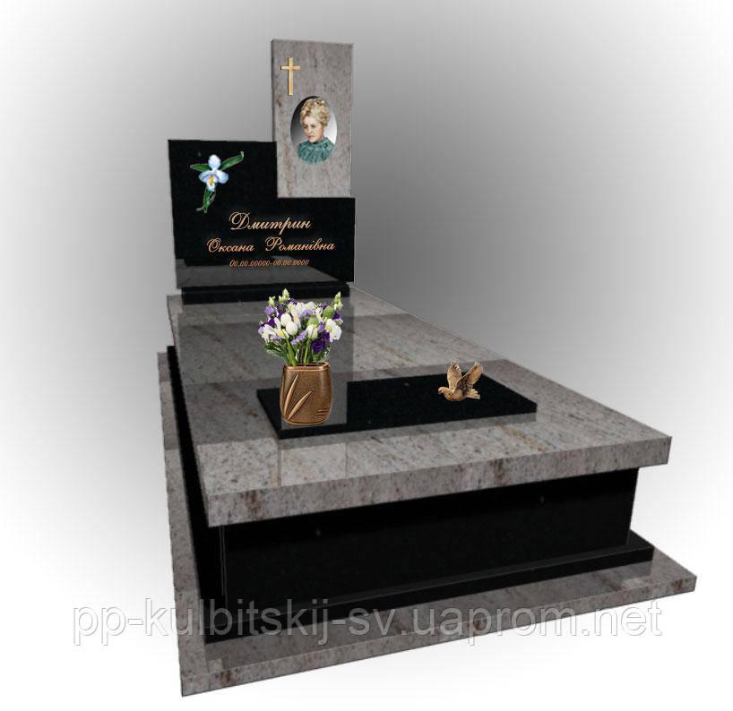 Надгробний одинарний пам'ятний 5029