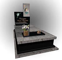 Надгробний одинарний пам'ятний 5029, фото 1