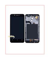 Дисплей Модуль Asus ZenFone Go (ZC500TG) с сенсором и рамкой Black