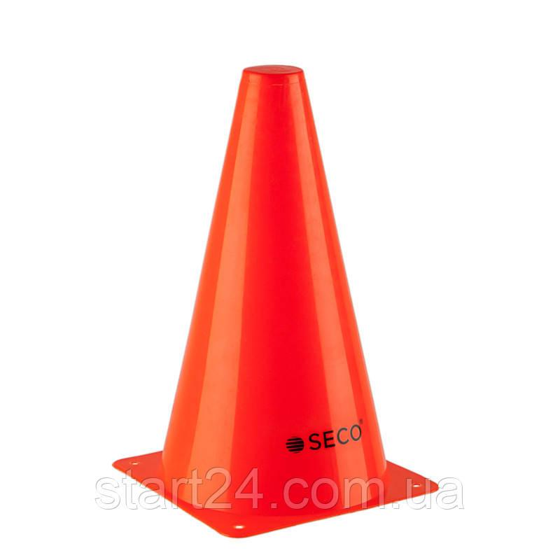 Тренировочный конус SECO 23 см красного цвета