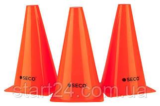 Тренировочный конус SECO 23 см красного цвета, фото 2