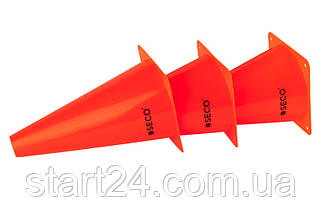 Тренировочный конус SECO 23 см красного цвета, фото 3