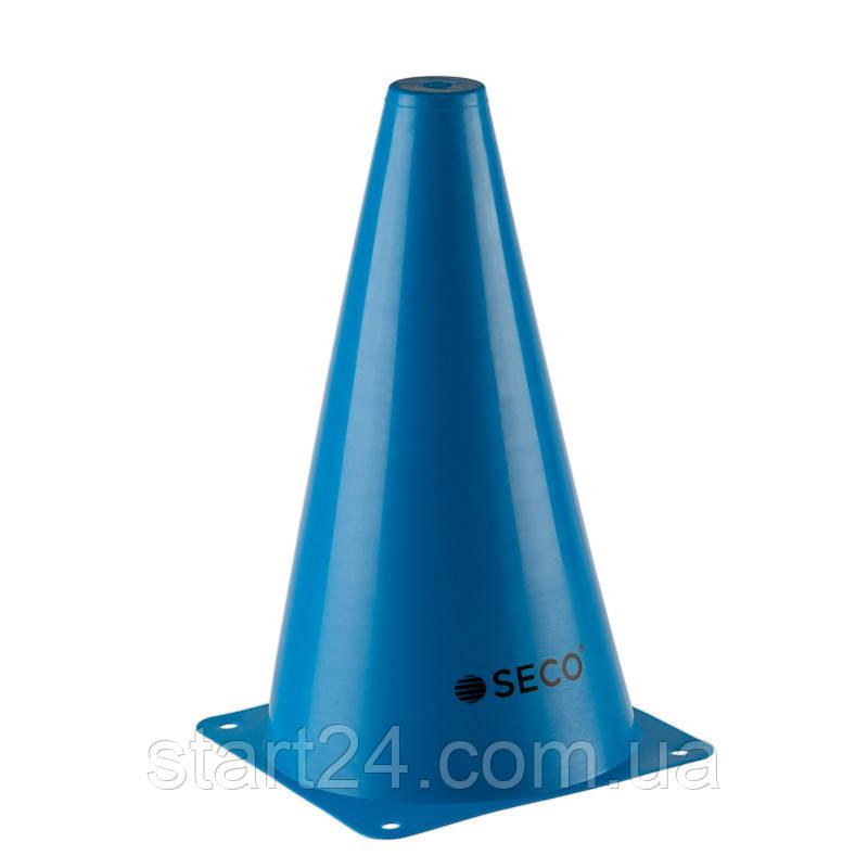 Тренировочный конус SECO 23 см синего цвета