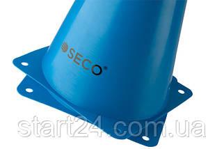 Тренировочный конус SECO 23 см синего цвета, фото 3