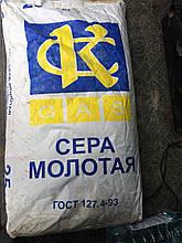 Сера молотая в мешках от 40 кг/мешок, ГОСТ 127.4-93