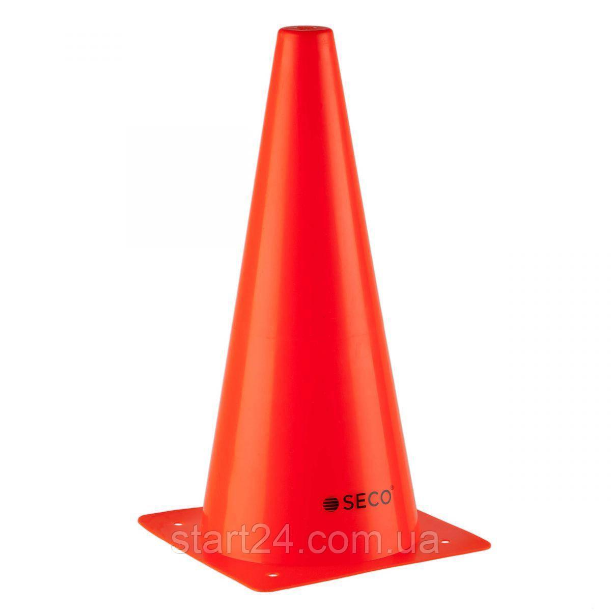 Тренировочный конус SECO 32 см оранжевого цвета