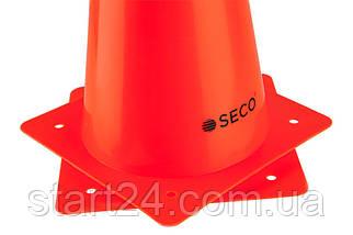Тренировочный конус SECO 32 см оранжевого цвета, фото 3