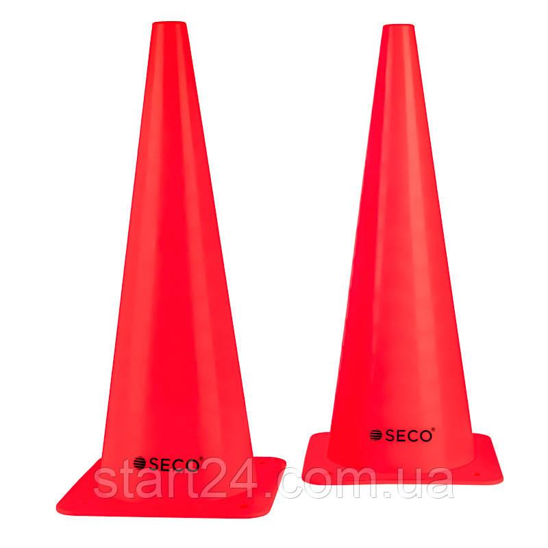 Тренировочный конус SECO 48 см красного цвета
