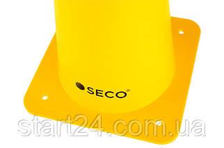 Тренировочный конус SECO 48 см желтого цвета, фото 3