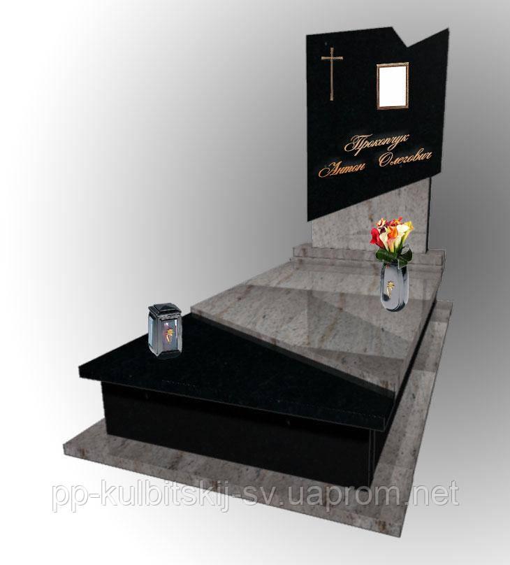 Надгробний пам'ятний італійський дизайн 5039