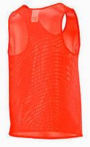 Футбольная манишка SECO оранжевого цвета, фото 2