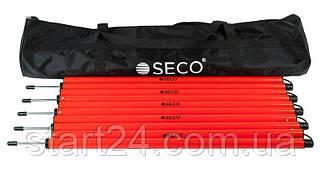 Набор тренировочных слаломных шестов SECO со штырем 1.7 м с сумкой