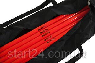 Набор тренировочных слаломных шестов SECO со штырем 1.7 м с сумкой, фото 3