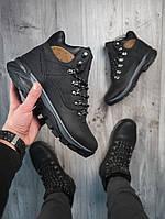 Ботинки мужские зимние, черного цвета. ТОП КАЧЕСТВО!!! , фото 1