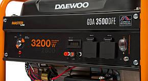 Газовый генератор Daewoo GDA 3500DFE + БЕСПЛАТНАЯ ДОСТАВКА ПО УКРАИНЕ, фото 2