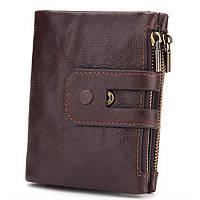 Кожанный кошелек Ikem-Wallet c RFID защитой