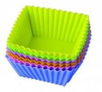 Набор силиконовых форм Корзинки-квадраты