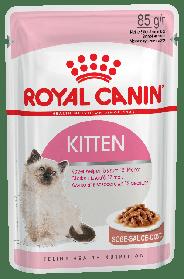 Royal Canin Kitten INSTINCTIVE IN GRAVY Консервированный корм для котят до 12 месяцев, 85г * 12 шт.