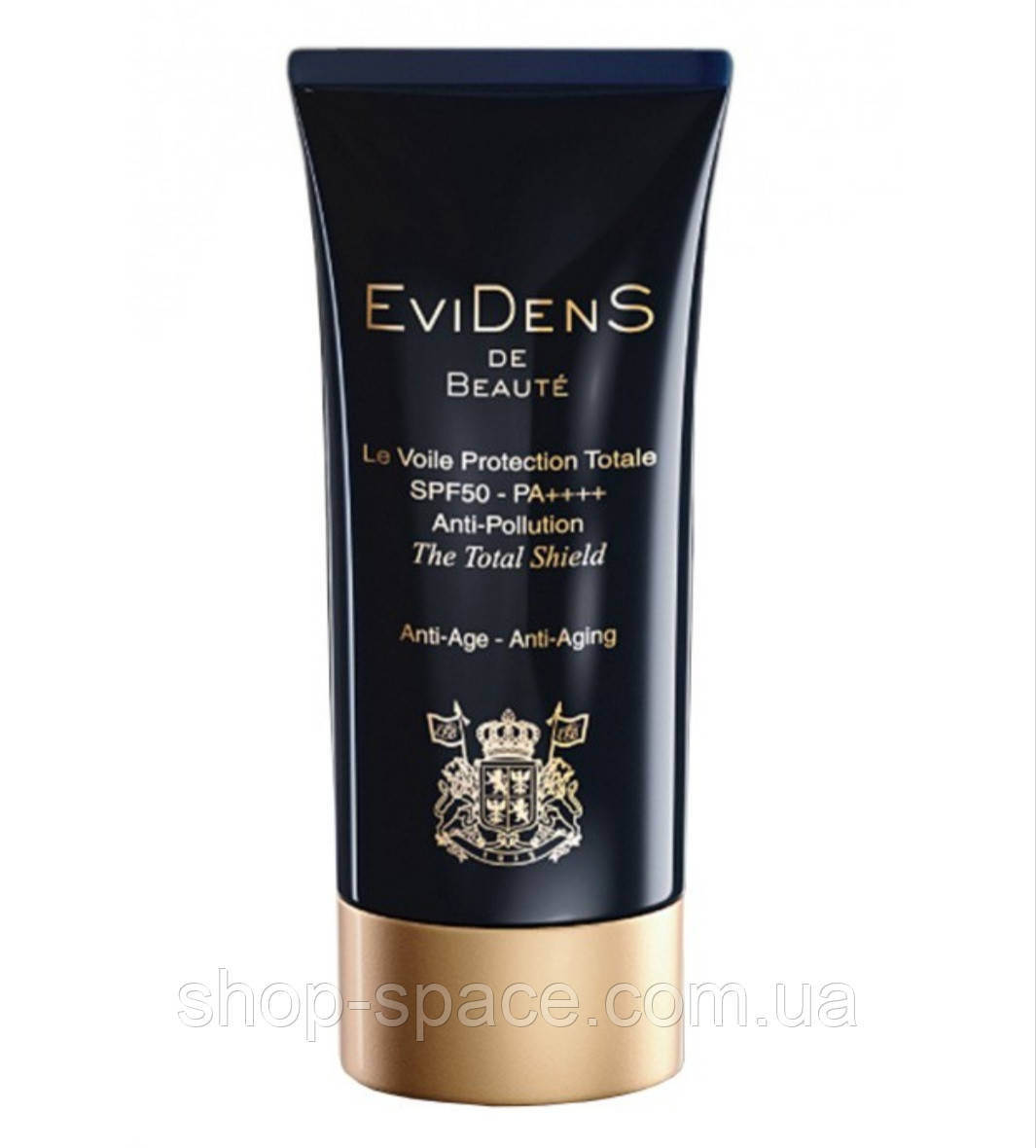 Солнцезащитный крем для лица Evidens de Beaute The Total Shield SPF 50++++