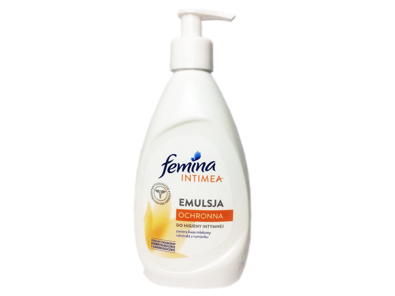 Засіб для інтимної гігієни Femina Emulsja ochronna 400 ml.