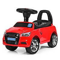 Каталка толокар Audi, MP3, свет, звук (красный)