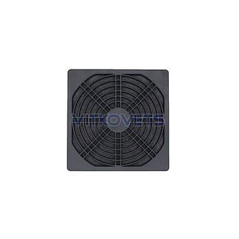 Решетка с фильтром STFL120 для вентилятора 120х120мм, фото 2