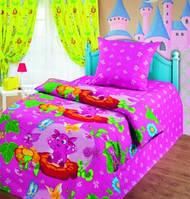 Комплект постельного белья Лунтик и бабочки