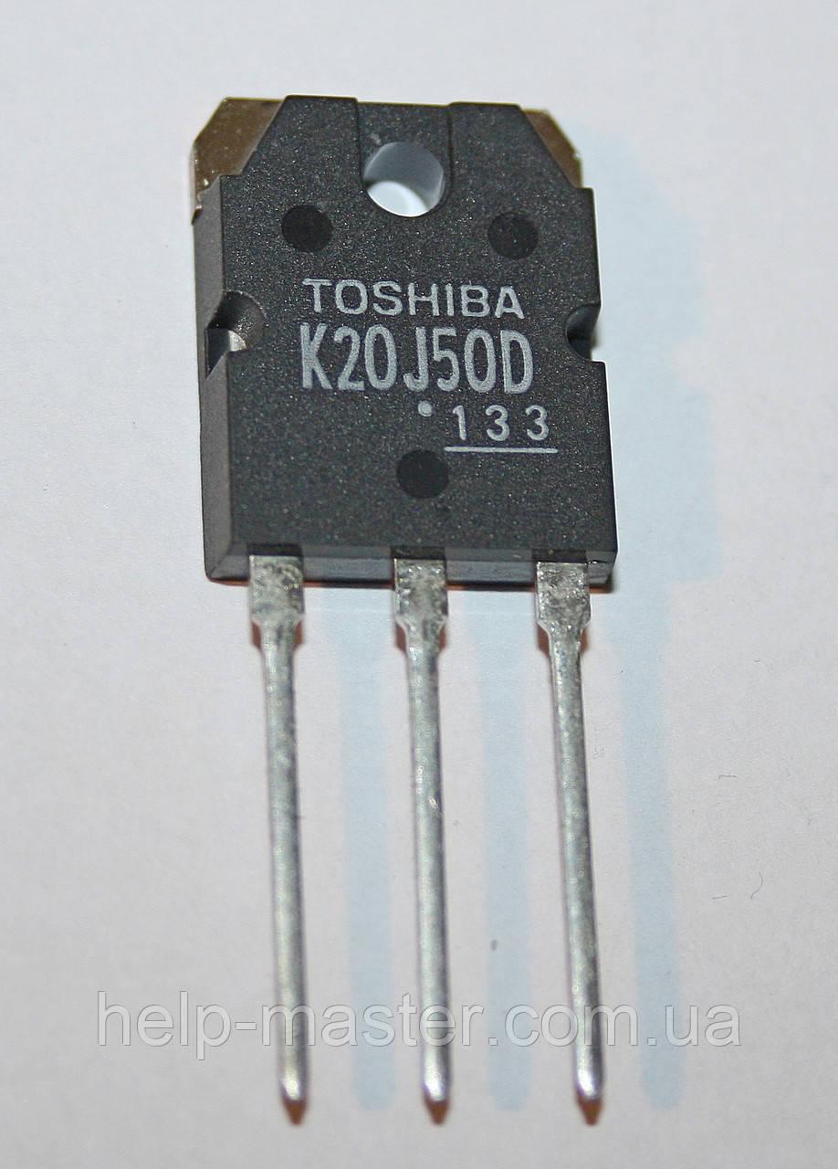 Транзистор TK20J50D, (TO3P)