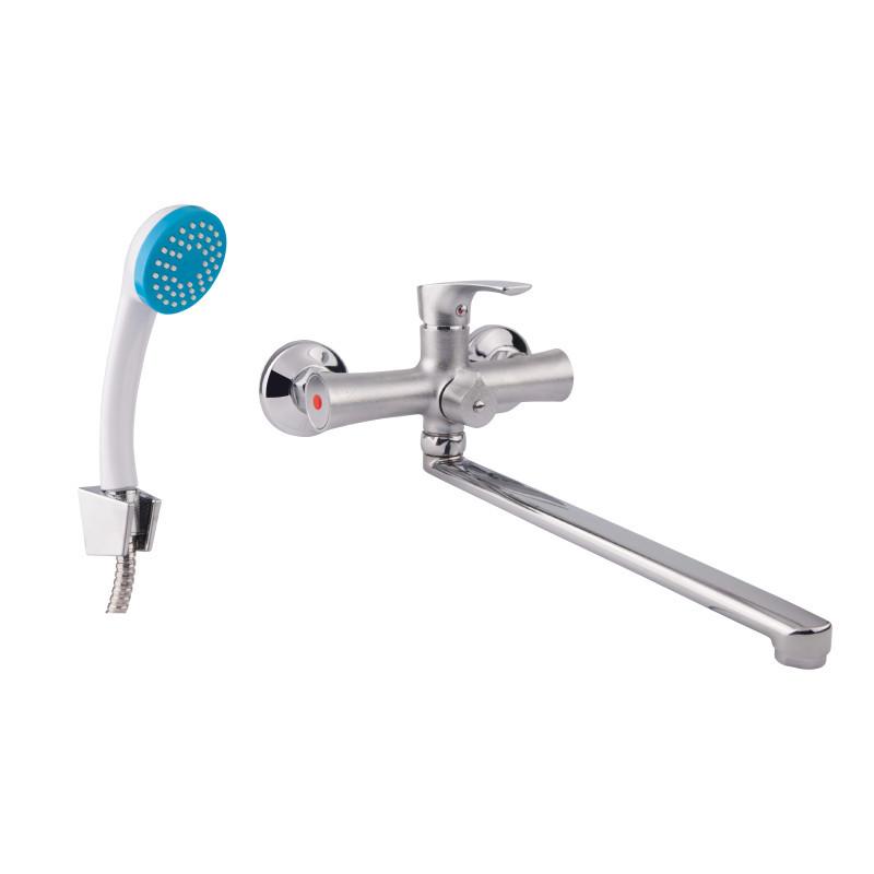 Однорычажный смеситель для ванны цвет хром GF Italy (CRM)/S- 14-005N