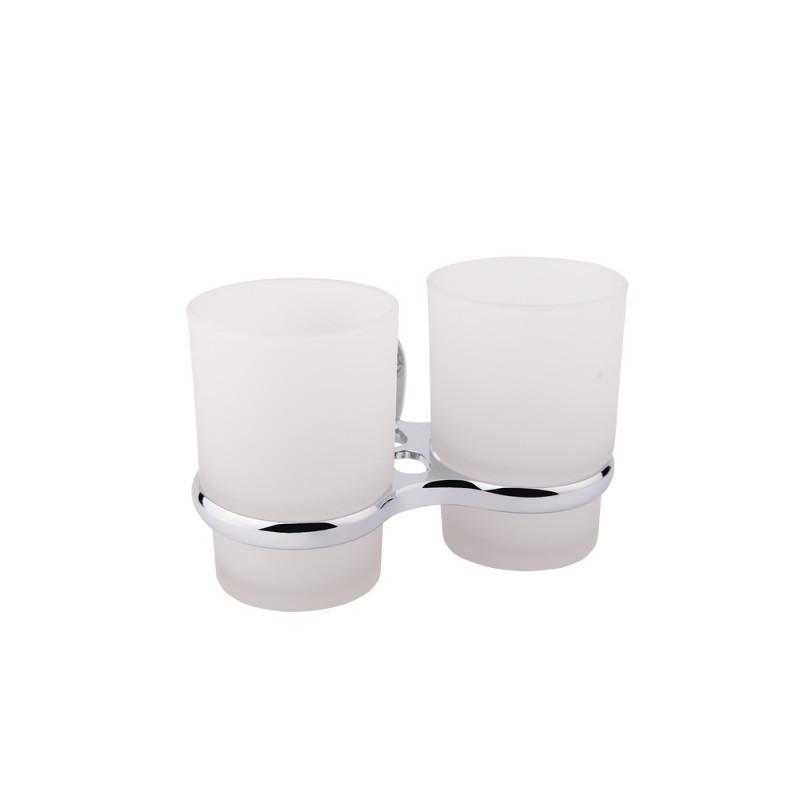 GF Italy (CRM)/S- 2908 двойной стакан настенный + держ. щеток
