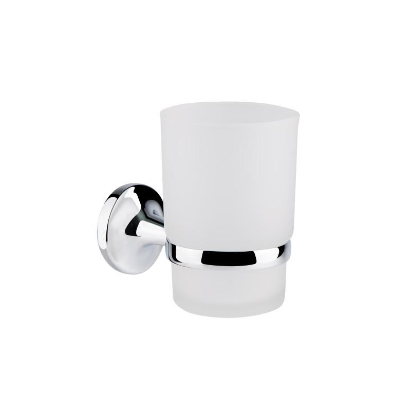 GF Italy (CRM)/S- 2806 стакан настенный (матовое стекло)