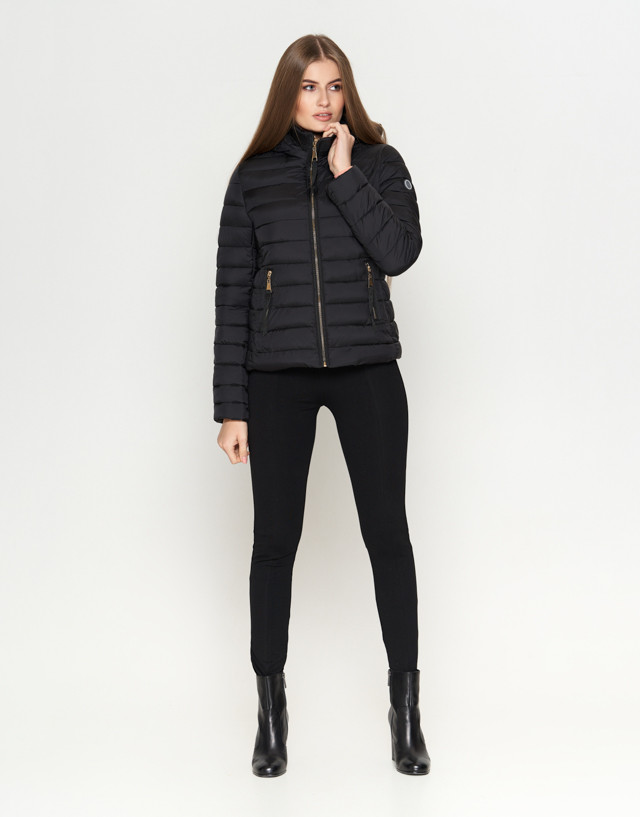 11 Киро Токао   Женская осенняя куртка 1863 черная  продажа, цена в ... 9b34628b455