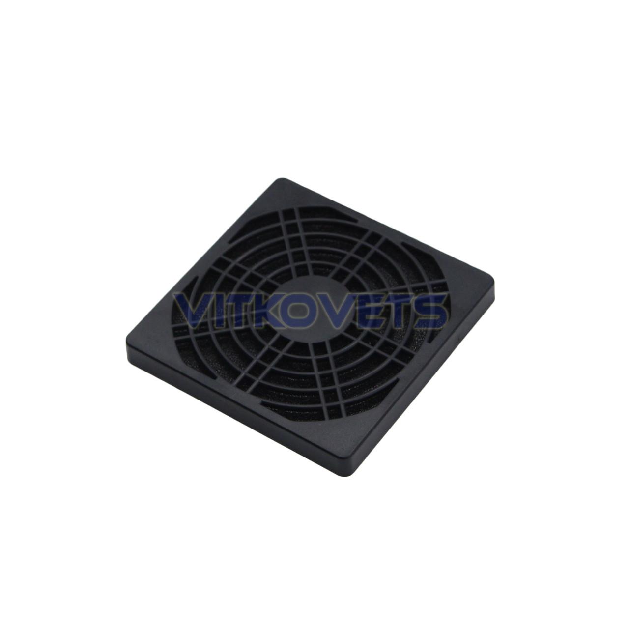 Решетка с фильтром STFL90 для вентилятора 90х90мм