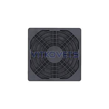 Решетка с фильтром STFL90 для вентилятора 90х90мм, фото 2