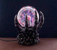 """9050023 Плазменный Шар - светильник """"Лапа дракона"""" Plasma Light электрический №4"""